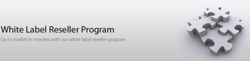 White label reseller program